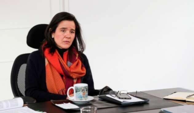 Sylvia Cristina Constaín, ministra de las TIC