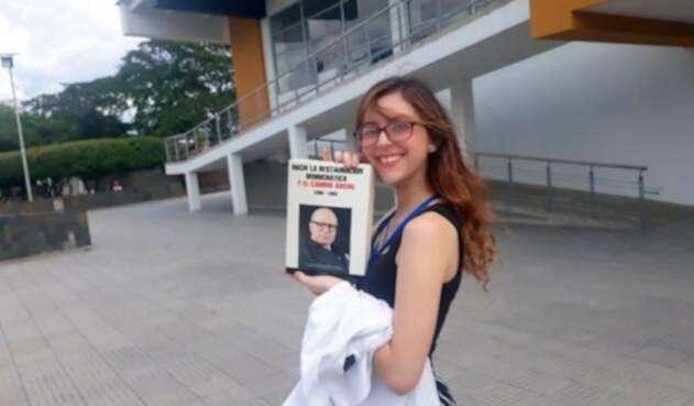 Tatiana Valentina Mora Rodríguez, estudiante colombiana