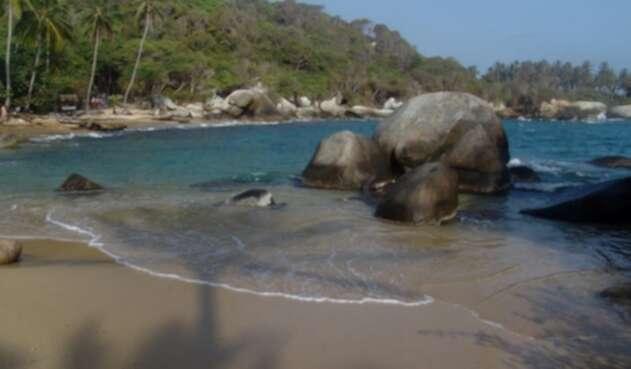 El Parque Natural El Tayrona es uno de los más visitados del país.
