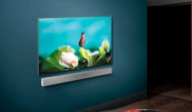 Televisor inteligente ofrece una mejora en la calidad de la imagen