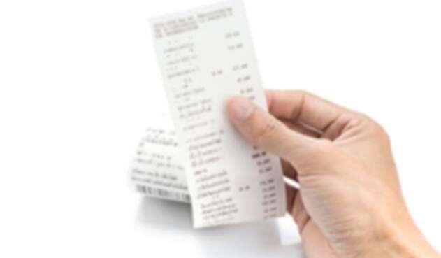 Imagen ilustrativa de una tirilla de pago