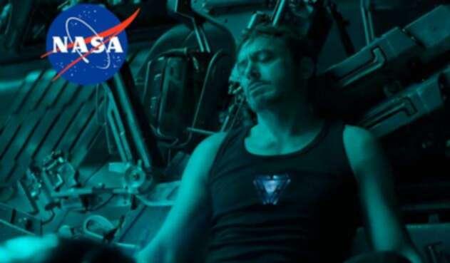 Tony Stark atrapado en una nave espacial