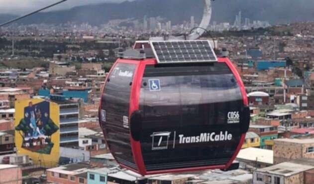 El TransMiCable de la ciudad de Bogotá