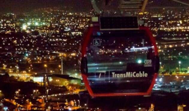 El TransMiCable de Ciudad Bolívar, en Bogotá