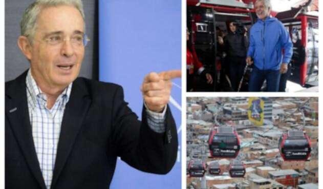 Álvaro Uribe y Enrique Peñalosa