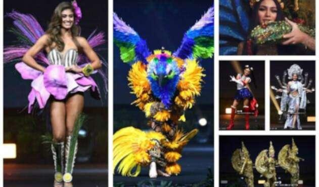 f390938ab Imágenes  Miss Universo 2018  desfile de trajes típicos