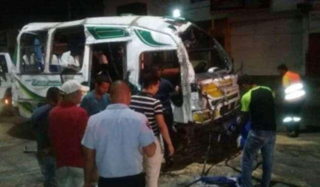 El accidente se registró en un barrio del norte de Barranquilla.