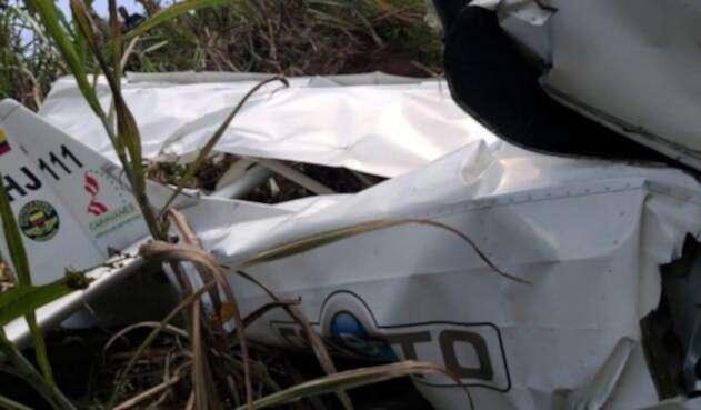 Accidente de avioneta en Frontino (Antioquia)