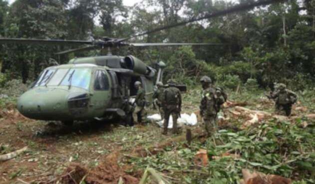 Operativos contra Guacho en Nariño