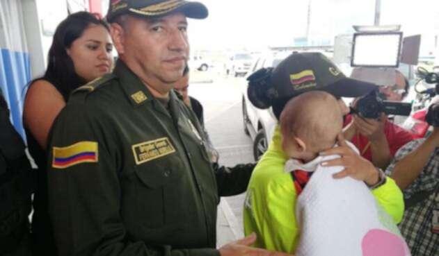 Ángel Smith Ortega Morena, bebé Soacha