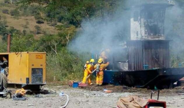 Incendio Ferri Ituango