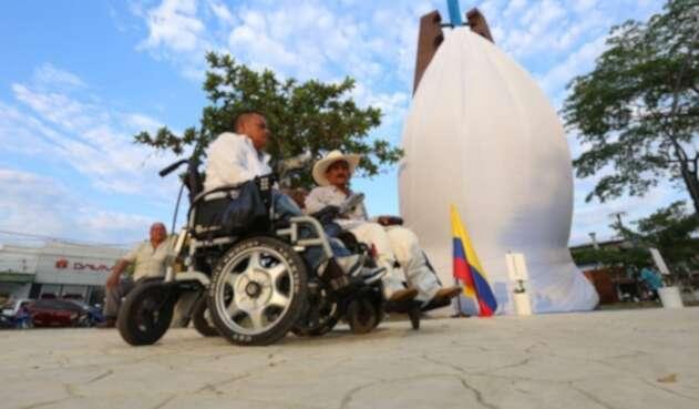 Víctimas del conflicto armado se sumaron a la jornada de paz en Puerto Boyacá