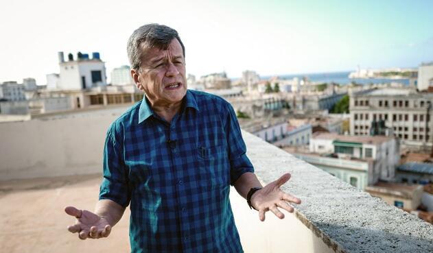 Pablo Beltrán, negociador del ELN, en La Habana