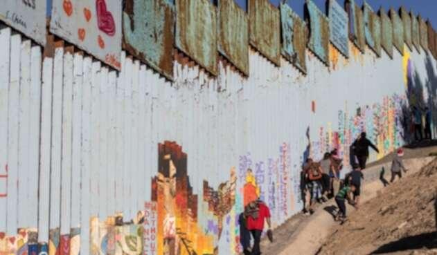 Muro fronterizo México y Estados Unidos