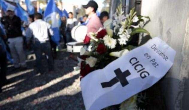 Cicig Guatemala protesta