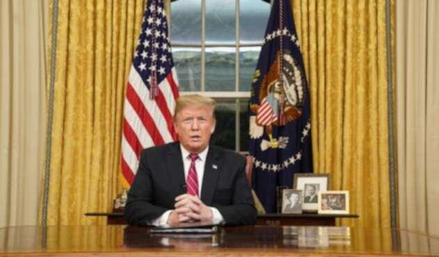 Presidente de EE.UU. Donald Trump.