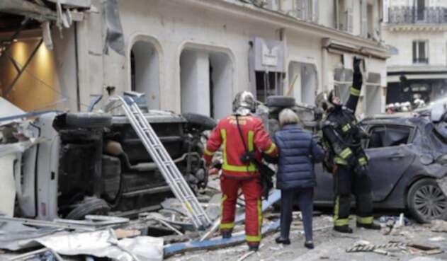 Explosión en Parìs