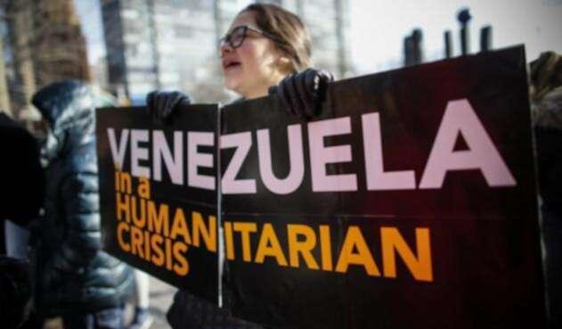 Protestas pro Venezuela en Estados Unidos