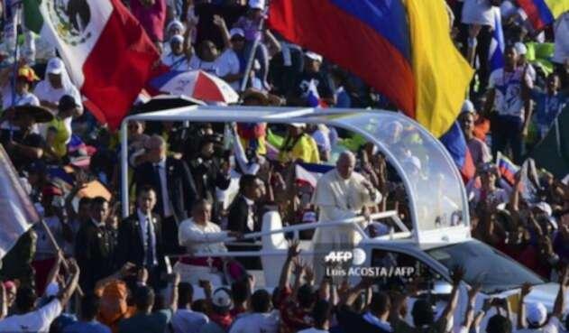 El papa Francisco en Panamá