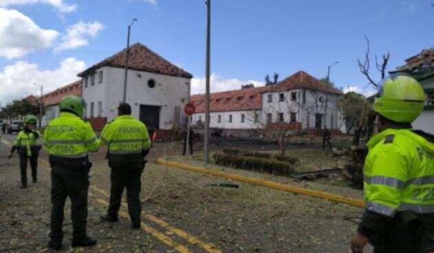 Explosión en Escuela de Cadetes General Santander