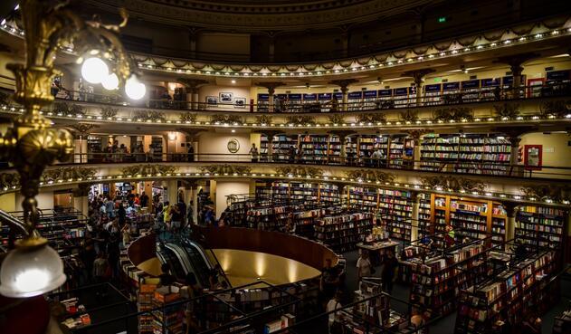 La librería más linda del mundo está en Buenos Aires.