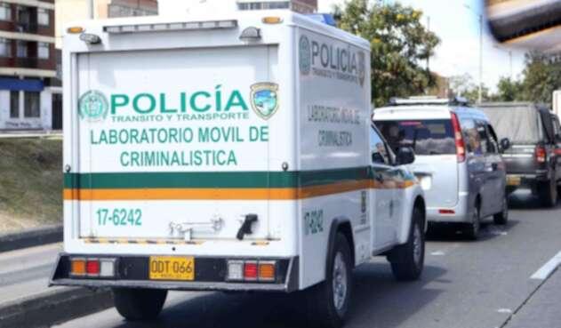 UNIDAD MOVIL DE CRIMINALISTICA DE LA POLICIA NACIONAL