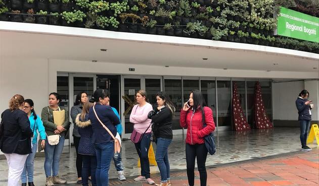 Madres comunitarias de Bogotá
