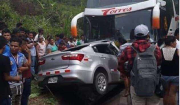 Accidente en Perú