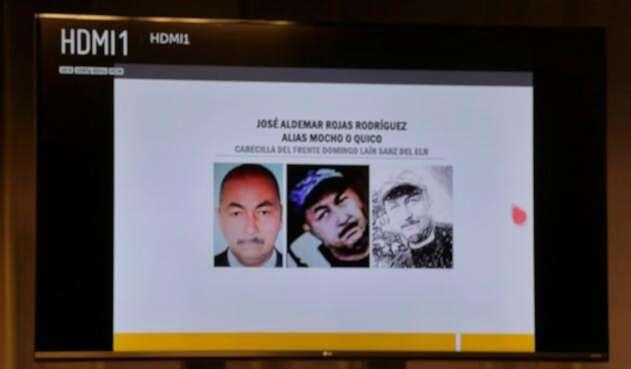 José Aldemar Rojas Rodríguez, señalado como autor material del atentado en la Escuela General Santander
