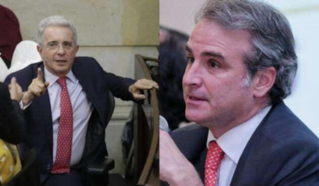 Álvaro Uribe y Pablo Felipe Robledo, en duro enfrentamiento