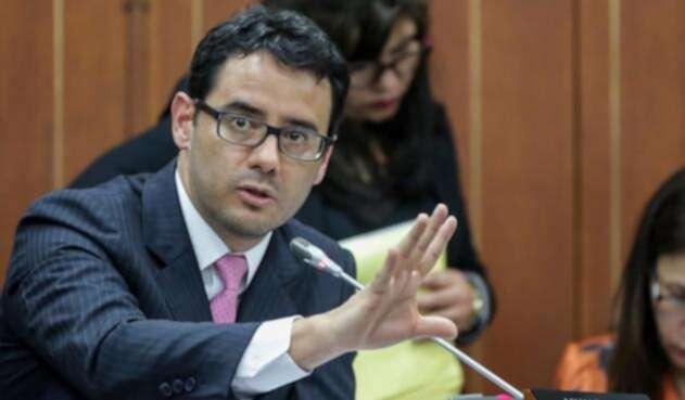 Andrés Pardo, viceministro de Hacienda