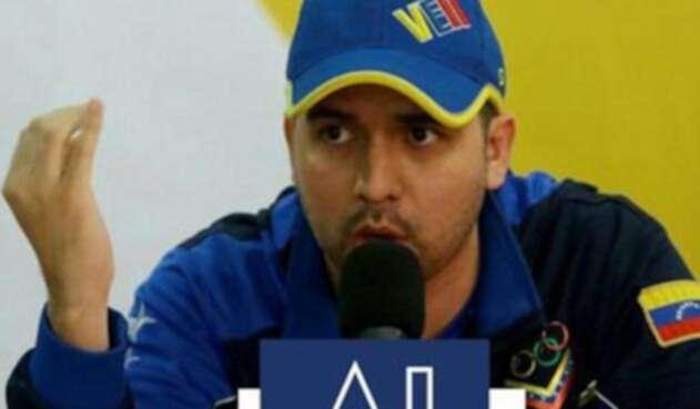 Arnaldo Sánchez, viceministro de Masificación deportiva de Venezuela