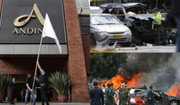 Son varios los atentados terroristas en Bogotá en las últimas décadas.