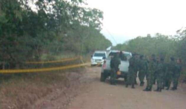 La zona de Cabuyaro (Meta) donde fue hallada sin vida la menor Angie Lorena Nieto