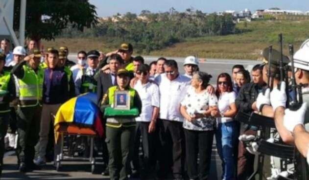 Son cinco los santandereanos que fallecieron en el atentado en Bogotá.