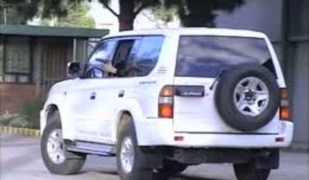 Camioneta de la UNP