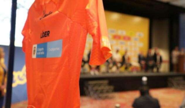 Presentan la camiseta del líder del Tour Colombia 2.1