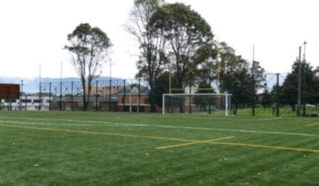 Canchas de fútbol. Imagen de referencia