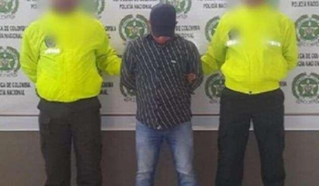 La captura ocurrió en el municipio de Chinú.