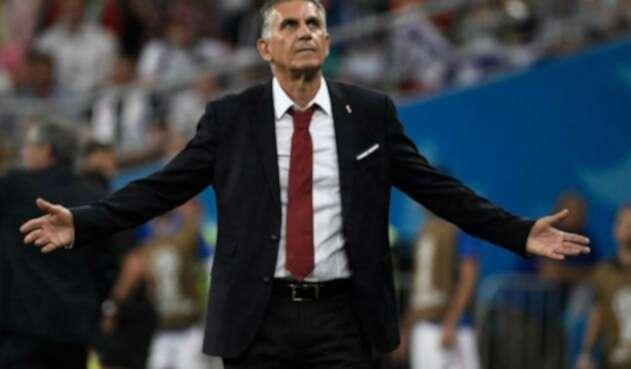 Carlos Queiroz podría ser el nuevo técnico de la Selección Colombia