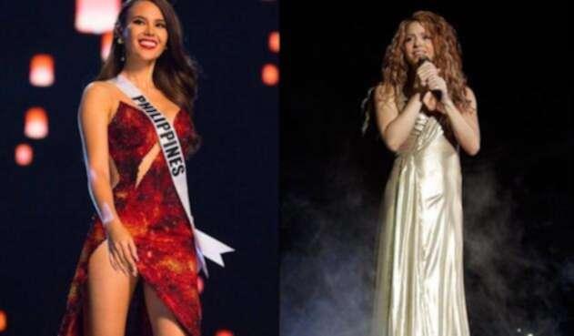 La nueva Miss Universo se declaró fan de la colombiana y su música.