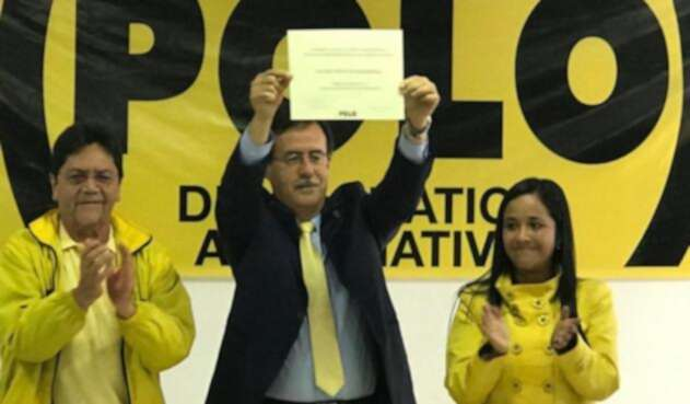 Celio Nieves, precandidato a la Alcaldía de Bogotá