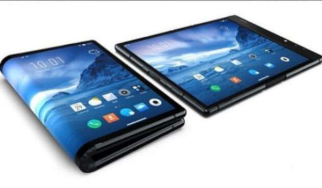 celular inteligente smartphone plegable