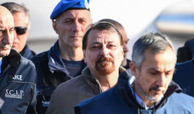 CesareBattisti, un exactivista de extrema izquierda en Italia