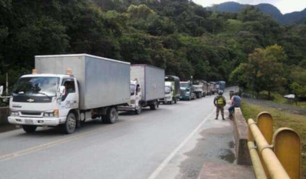 Transportadores en carretera
