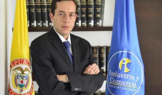 Andrés Barreto, superintendente de Industria y Comercio.