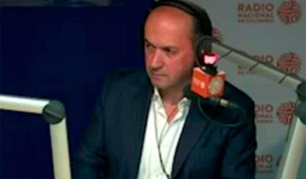 Darío Fernando Patiño, periodista colombiano, en RTVC