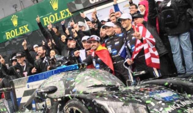 Fernando Alonso, piloto español
