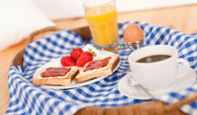 Desayunar es bueno para la salud.