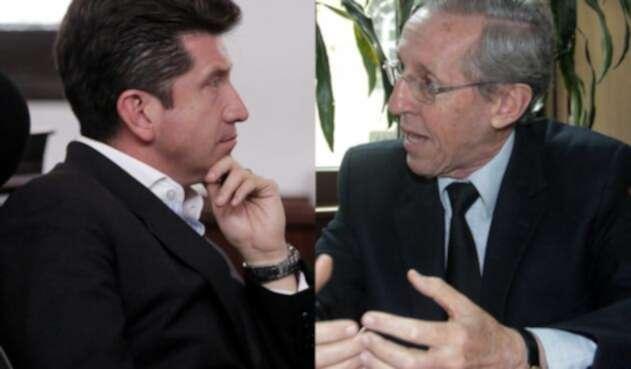 Diego Molano y Antonio Navarro Wolff